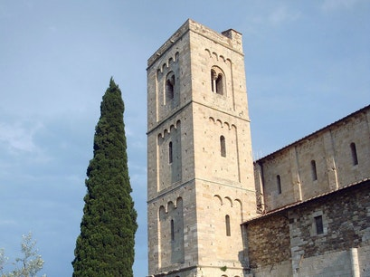 Abbey of Sant'Antimo Castelnuovo Dell'abate  Italy