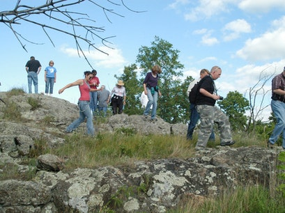 Gneiss Outcrops   Minnesota United States