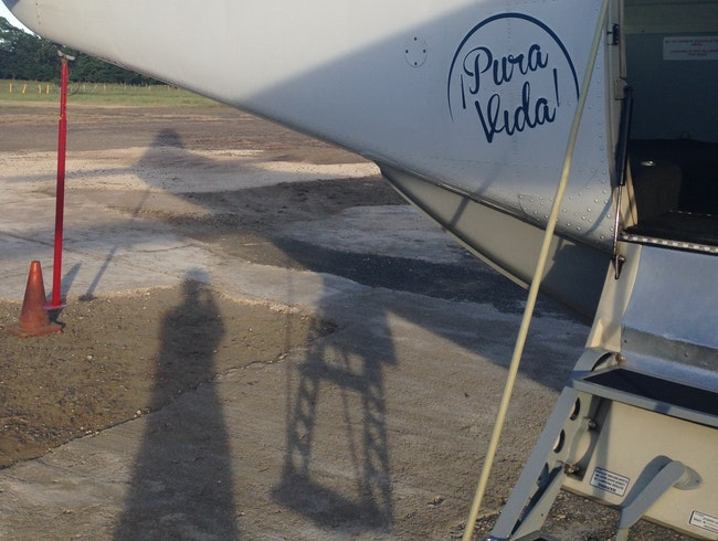 Fly between Tamarindo and San Jose with ease...and a spectacular view!