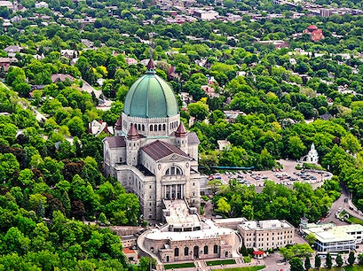 St. Joseph's Oratory of Mount Royal Montreal  Canada