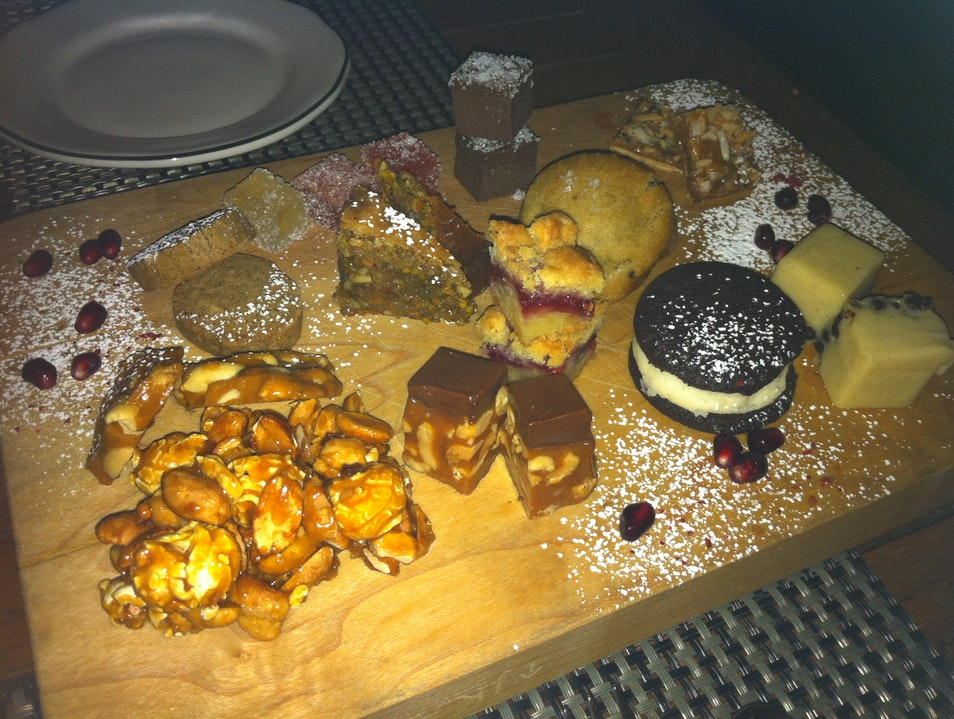 CATCH: Eat the dessert platter at Michael's! Miami Florida United States
