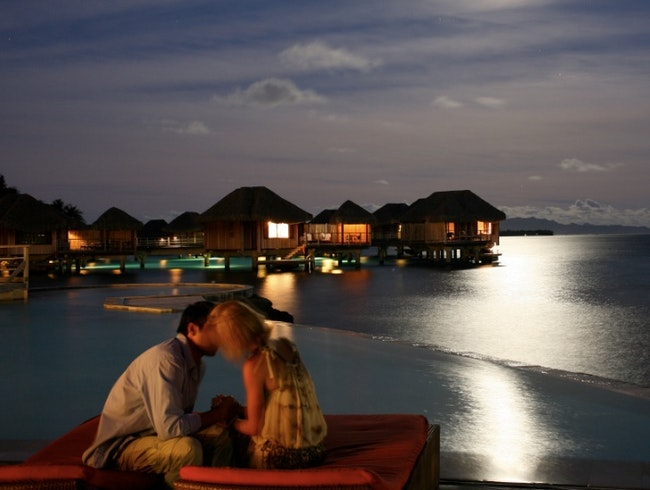 Girl's Week Aay: Overwater Bungalows in Bora Bora
