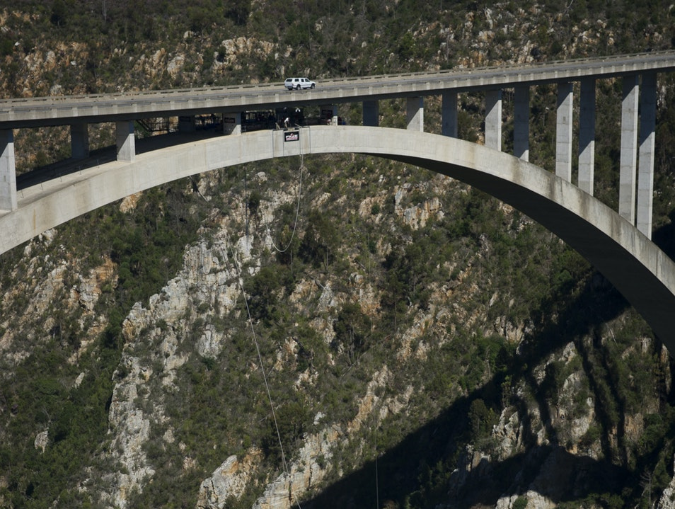 World's Highest Bungy Bridge–HELL NO! Plettenberg Bay  South Africa