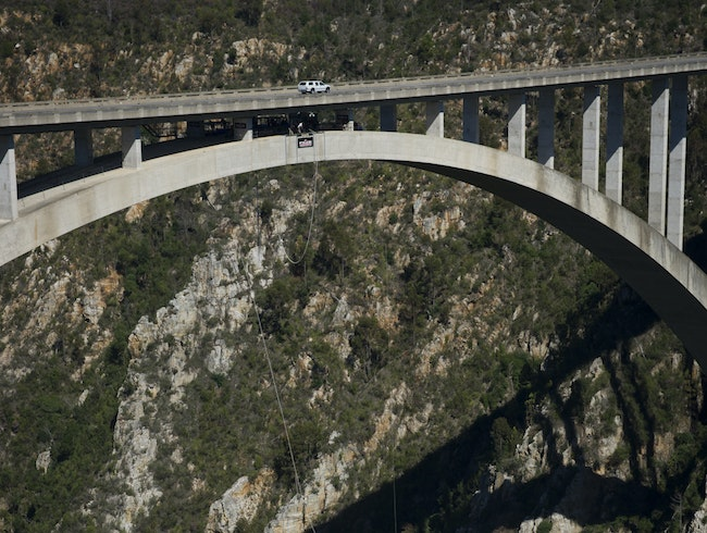 World's Highest Bungy Bridge–HELL NO!