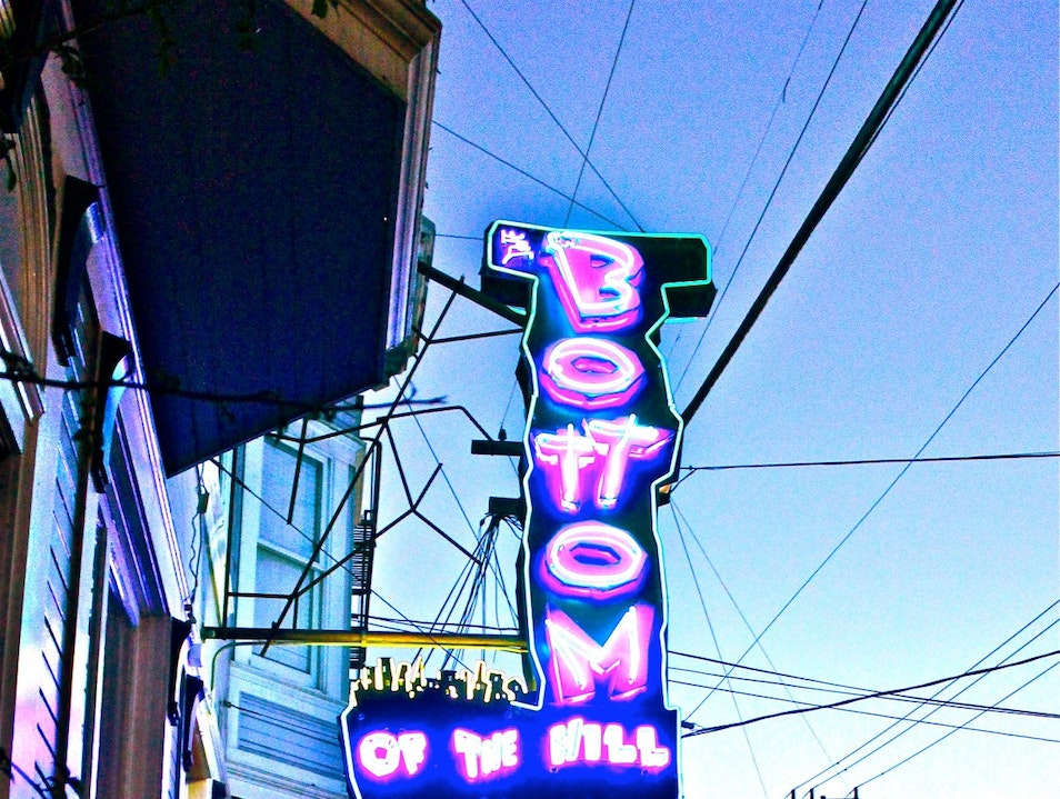 Find Your Favorite Band at Bottom of the Hill  San Francisco California United States