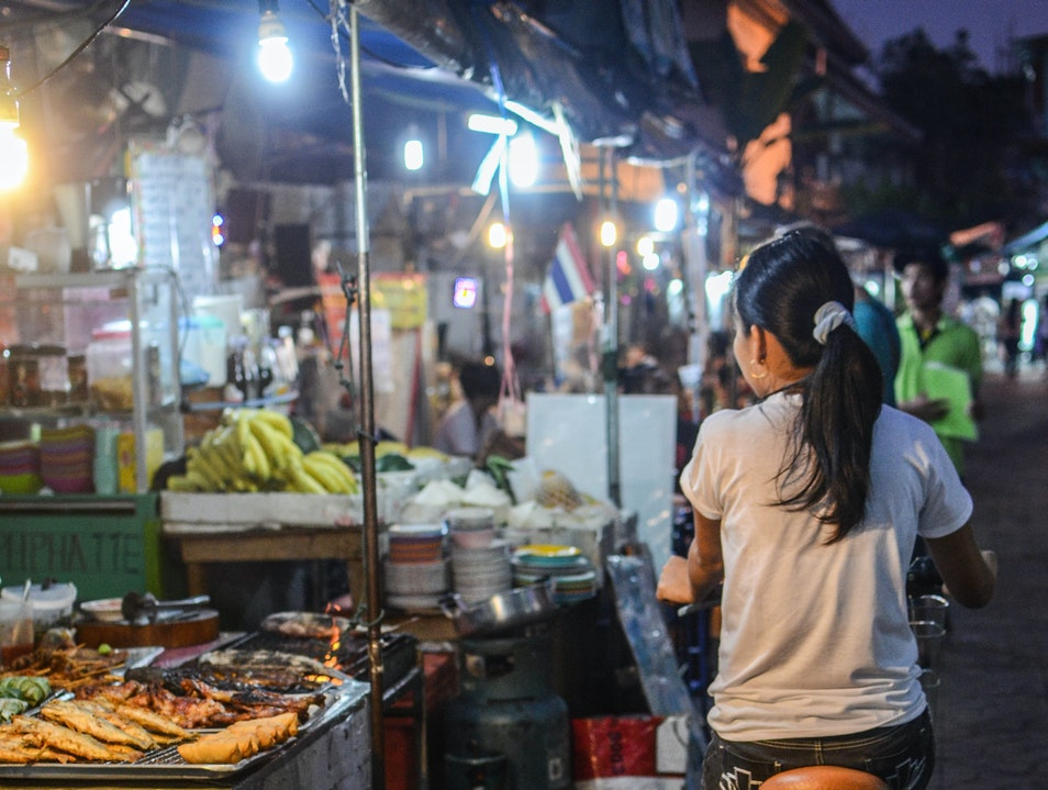 The Psar Reatrey Night Market Phnom Penh  Cambodia