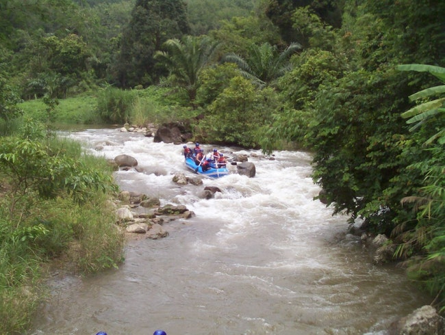 Whitewater Rafting in Phang Nga Province