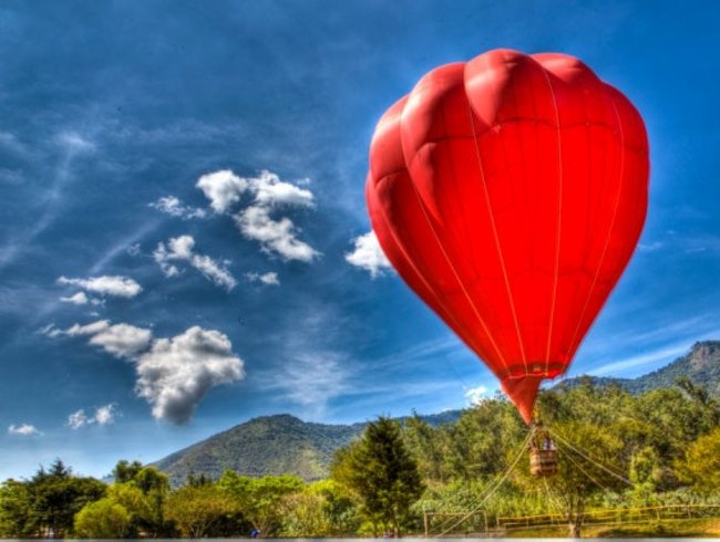 Up, Up and Away with Aerostatika Hot Air Balloons