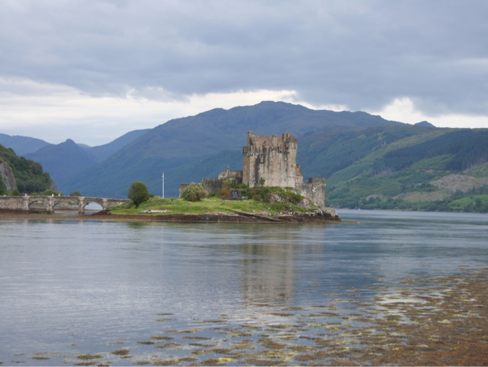 A Castle in the Highlands Dornie  United Kingdom