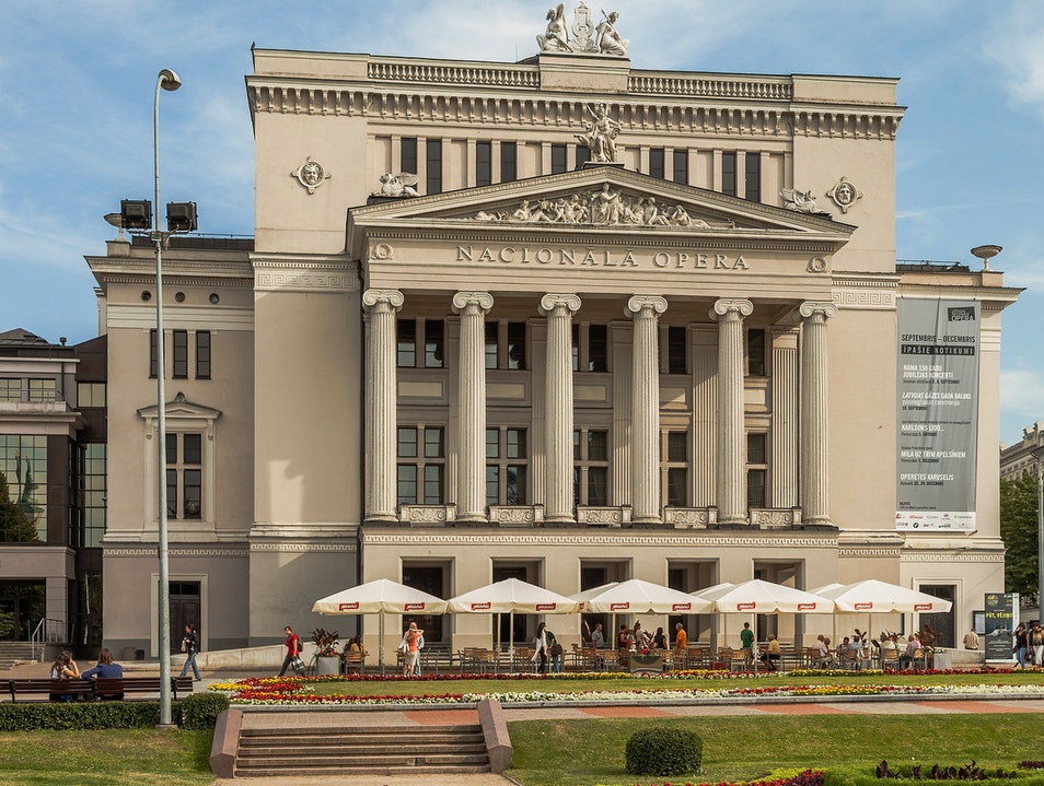 Latvian National Opera  Riga  Latvia