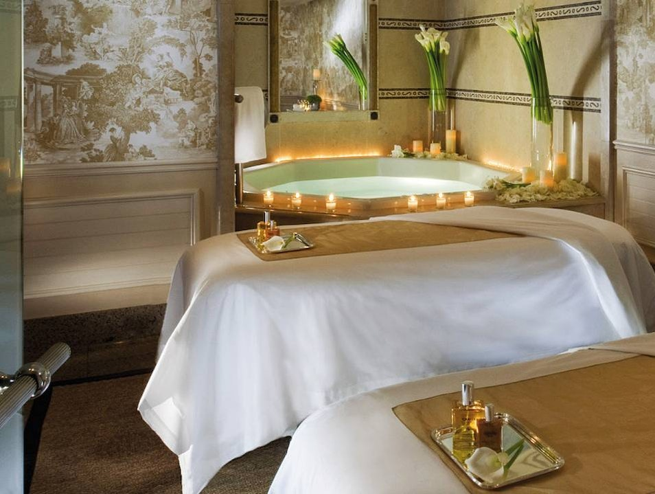 Spa at the Georges V Hotel  Paris  France