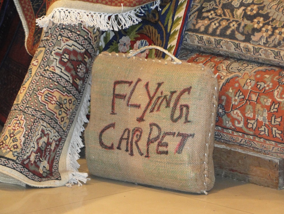 Flying carpet New Delhi  India