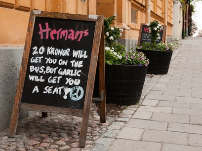 Hermans Vegetariska Restaurang Stockholm  Sweden