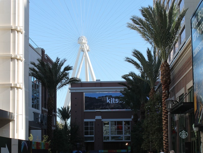 Pedestrian Mall on the Las Vegas Strip