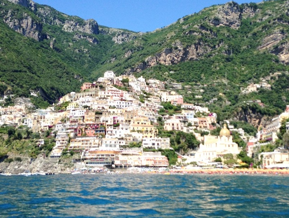 Boating Along the Amalfi Coast Amalfi  Italy
