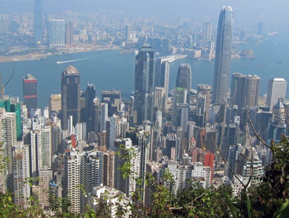 The Victoria Peak Walking Trail Hong Kong  Hong Kong