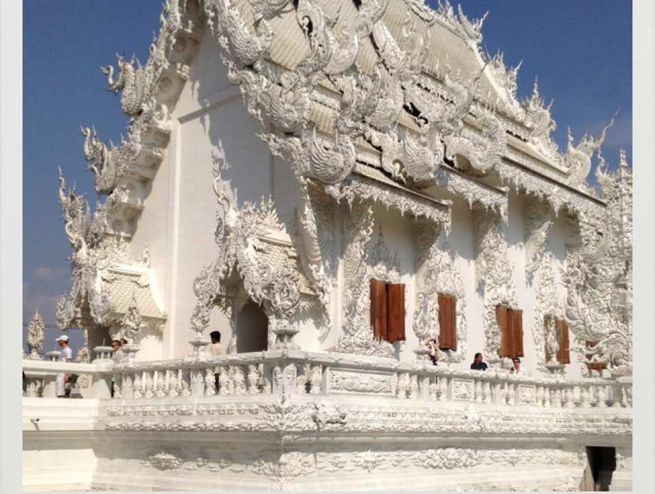 White Temple Pa O Don Chai  Thailand