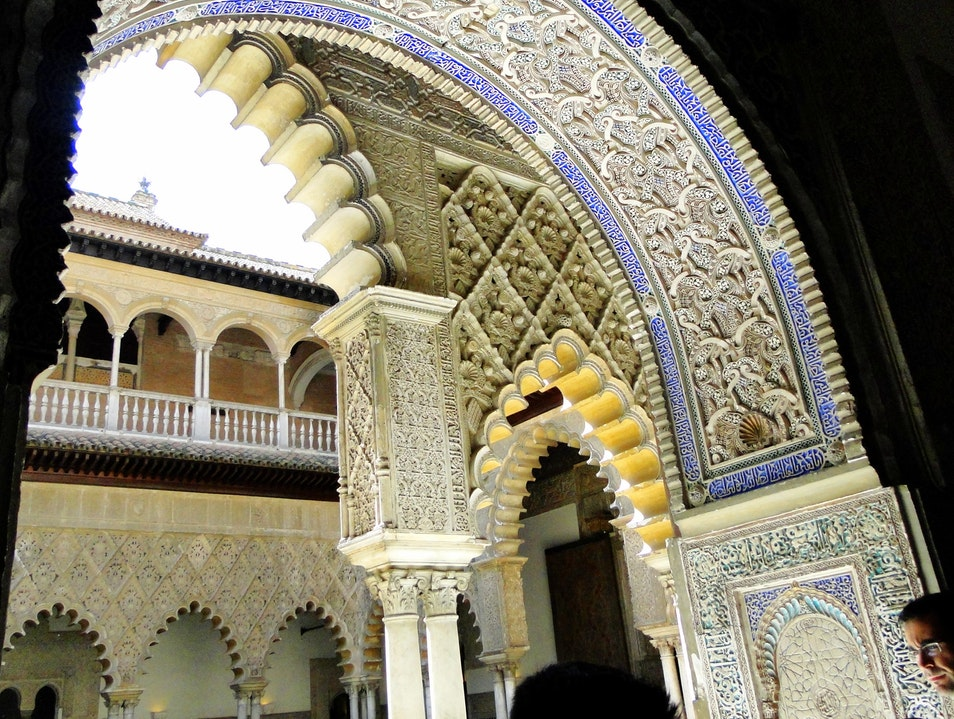 Royal Alcázar of Seville - layers of architectural styles  Seville  Spain