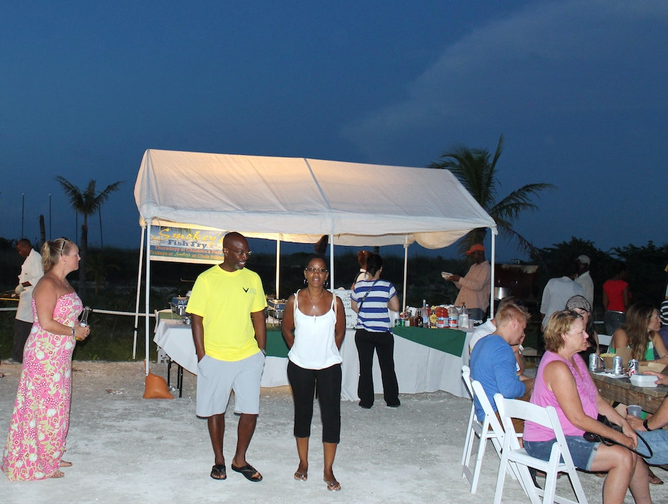 Island Fish Fry, Turks & Caicos Providenciales And West Caicos  Turks and Caicos Islands