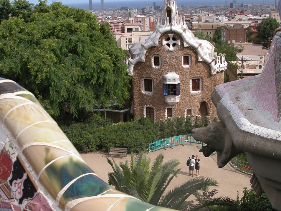 On Top of the World: One of my favorite spots in Barcy Barcelona  Spain