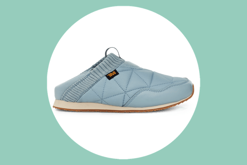 Part sleeping bag, part slipper, the Teva Mocs are the perfect shoe for lounging outdoors.