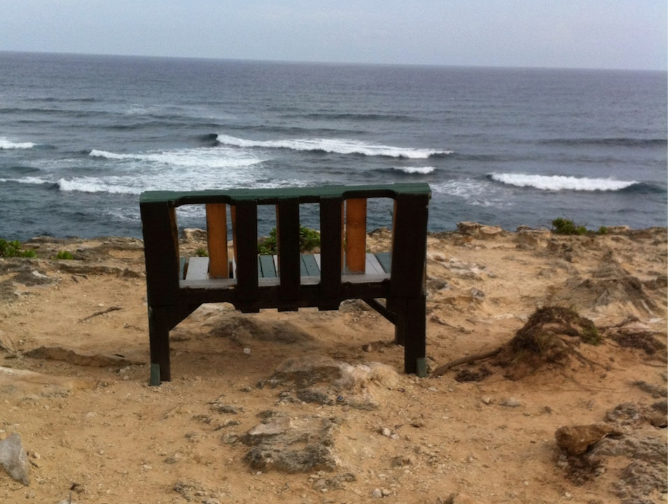 Bench With A View Koloa Hawaii United States
