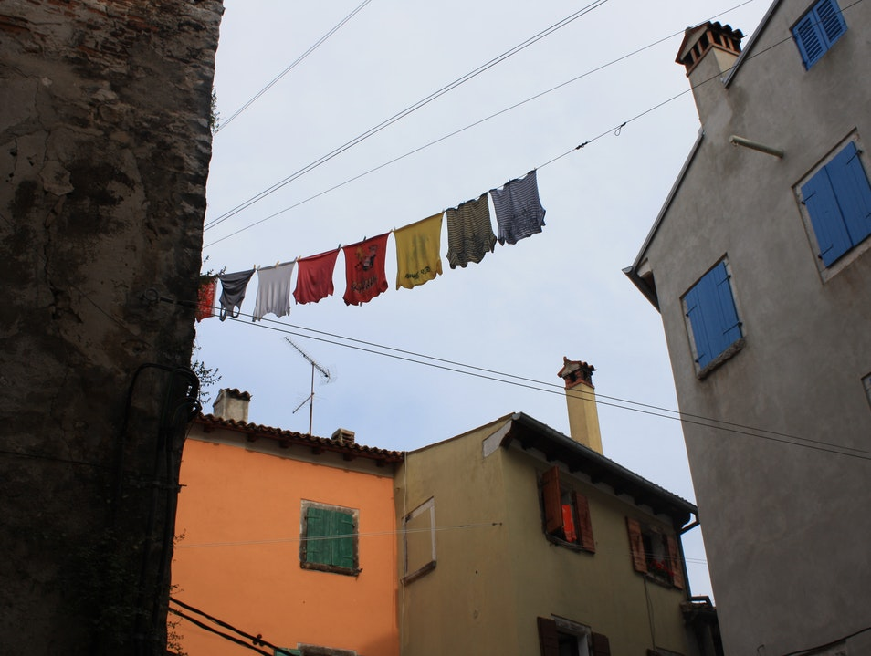 Laundry in Rovinj Rovinj  Croatia