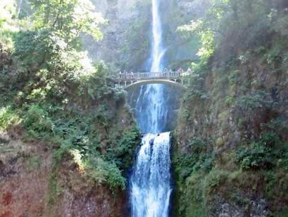 Multnomah Falls, Near Portland OR Corbett Oregon United States
