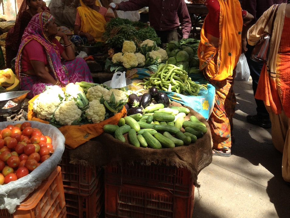 Jaipur's fruit and vegetable market Jaipur  India