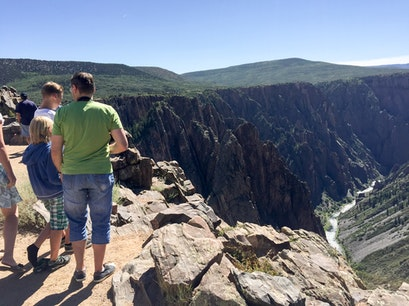 Black Canyon of the Gunnison National Park Crawford Colorado United States