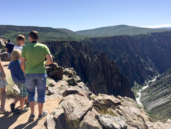 Black Canyon of the Gunnison National Park, hidden gem in central Colorado