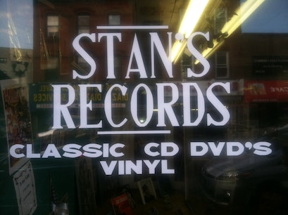 Stan's Square Records Jersey City New Jersey United States