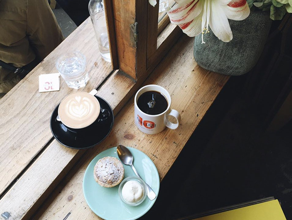 Coffee and Cake at Ten Belles