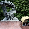 Frederic Chopin Monument Warsaw  Poland