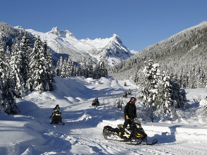 Blackcomb Snowmobile Tour Whistler  Canada