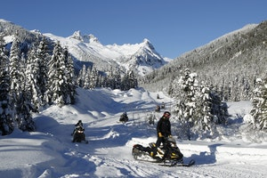 Blackcomb Snowmobile Tour