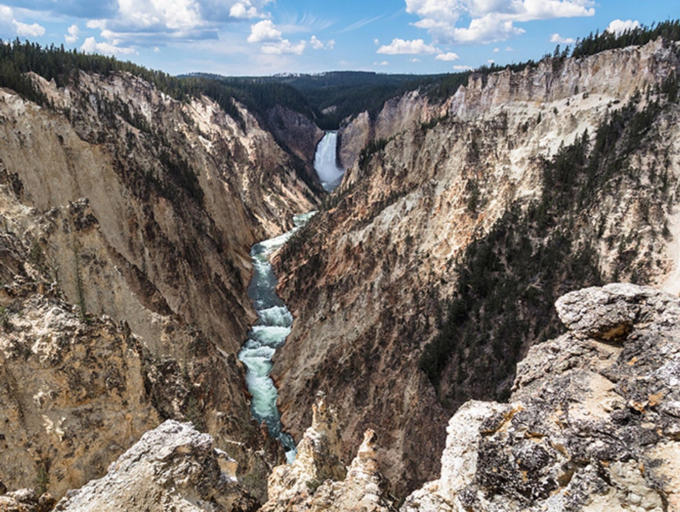 Grand Canyon of the Yellowstone Photography Yellowstone National Park Wyoming United States