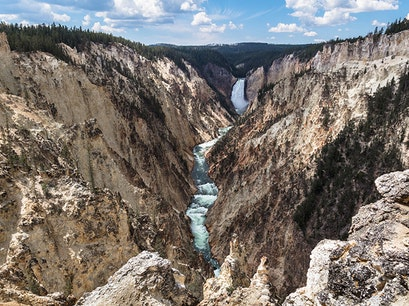 Grand Canyon of the Yellowstone Yellowstone National Park Wyoming United States