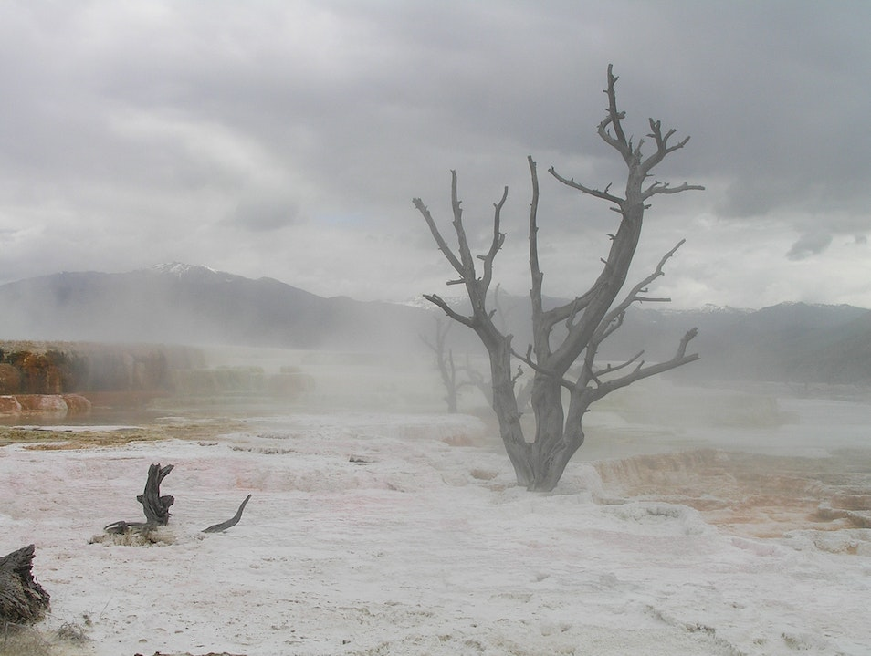 From a different planet Yellowstone National Park Wyoming United States