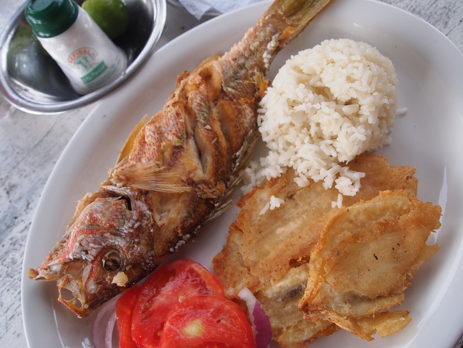 Enjoy a freshly cooked meal in the Colombian jungle Santa Marta  Colombia
