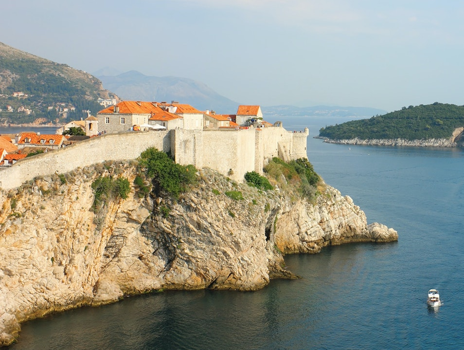 Panoramic Boat Ride around the Old Town Dubrovnik  Croatia