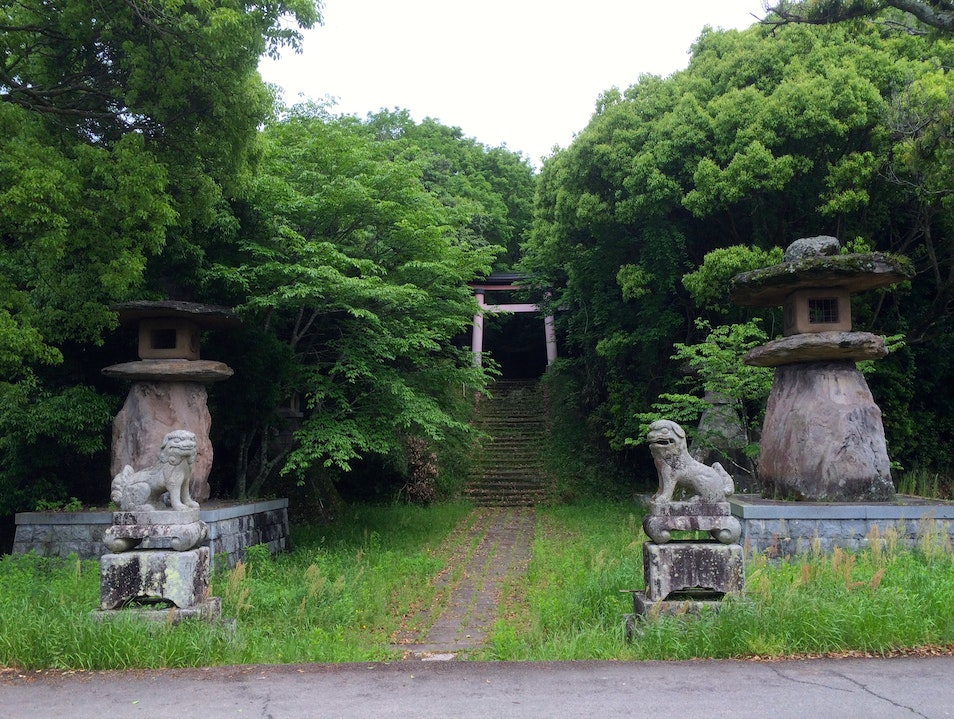 Walk in the Footsteps of Buddhist Monks Kitsuki  Japan