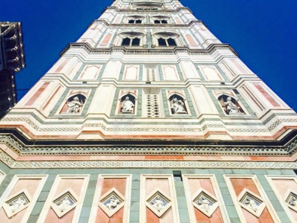 Climbing the Bell Tower of the Duomo, Florence Florence  Italy