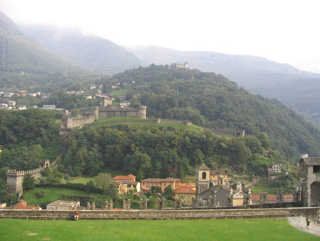 Towering Castle of Bellinzona