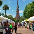 Charleston Farmers' Market Charleston South Carolina United States