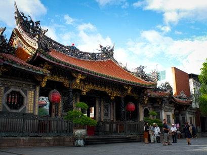 Mengjia Longshan Temple Wanhua District  Taiwan