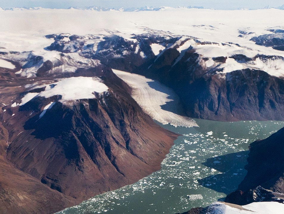 Greenland Ice Sheet Kujalleq  Greenland