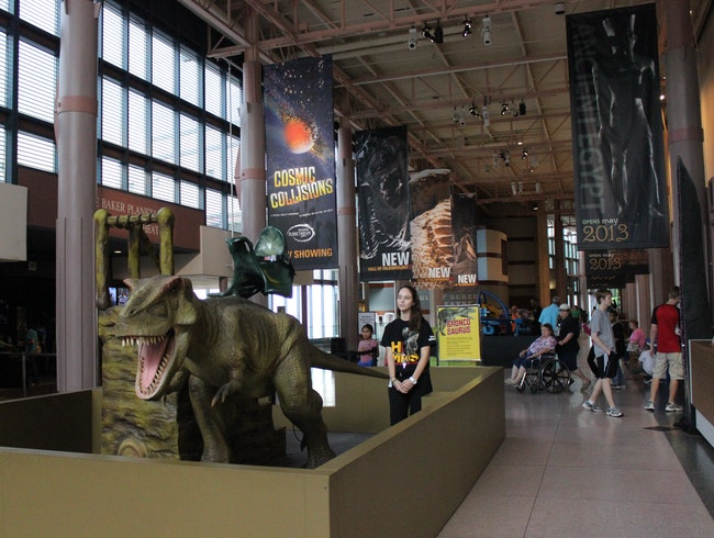 Dance with Dinosaurs and Watch a Shooting Star in Houston