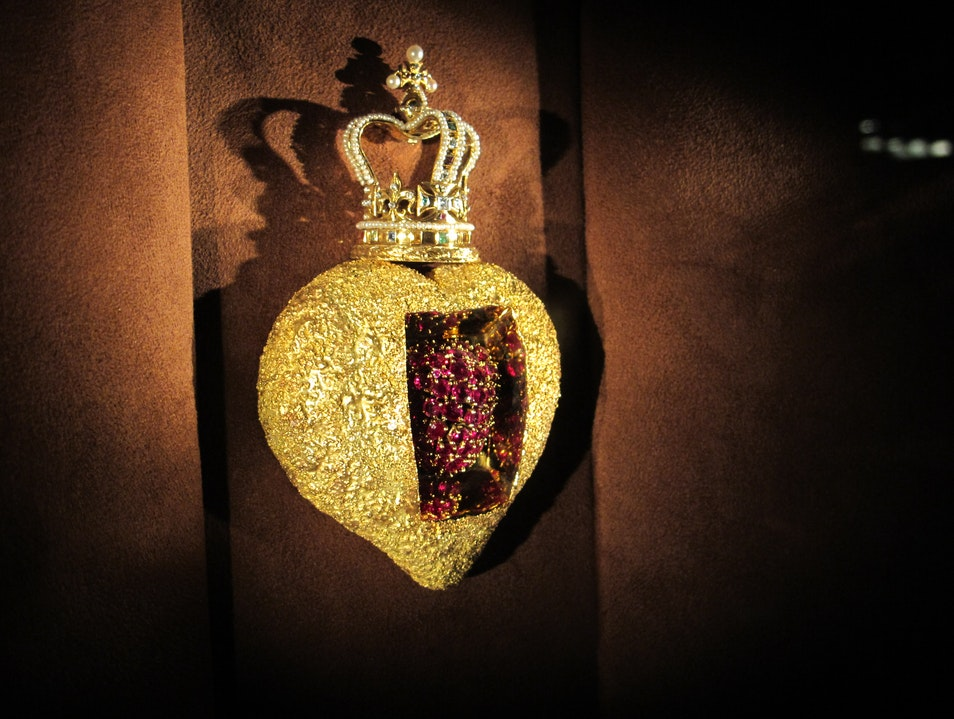 Jewels in Dali's Crown Figueres  Spain