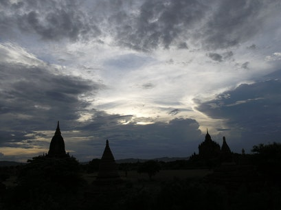 Old Bagan New Bagan  Myanmar